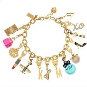 Kate Spade starfish gold mini charm for bracelet